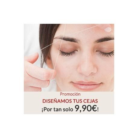 Promoción: Diseñamos tus cejas por sólo 9,90€